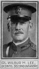 Description: Description: COL Wilbur M. Lee, 2nd Wis. Inf.